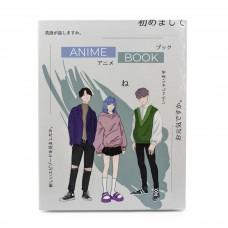 Anime Book, блокнот, розмальовка