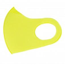 Захисна маска для обличчя, стильна, колір жовтий