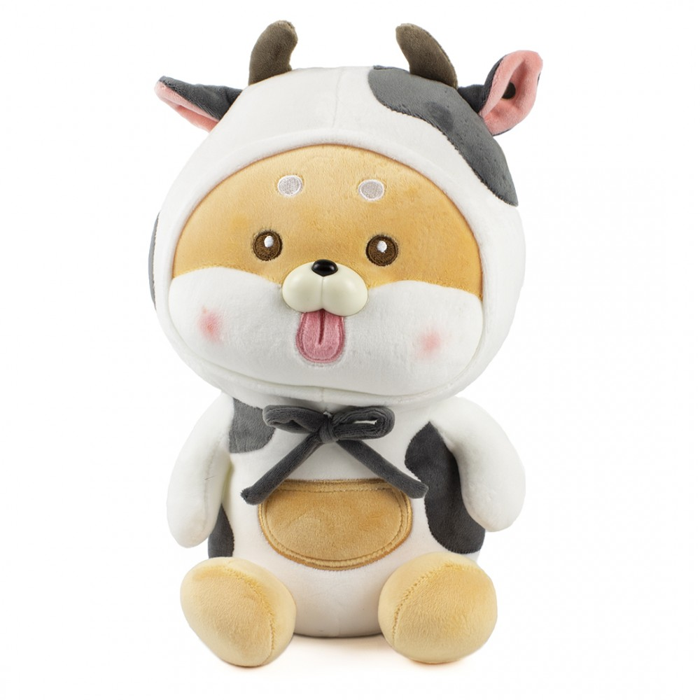 "Мягкая игрушка ""Собачка в костюме коровки"" 30 см"