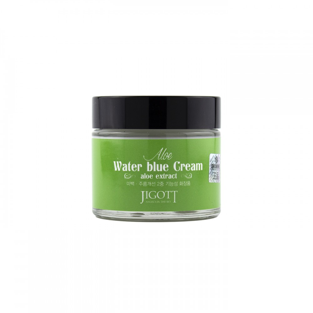 """Крем для шкіри обличчя """"Алое"""" відновлюючий для шкіри схильної до висипань Jigott 70 мл"""