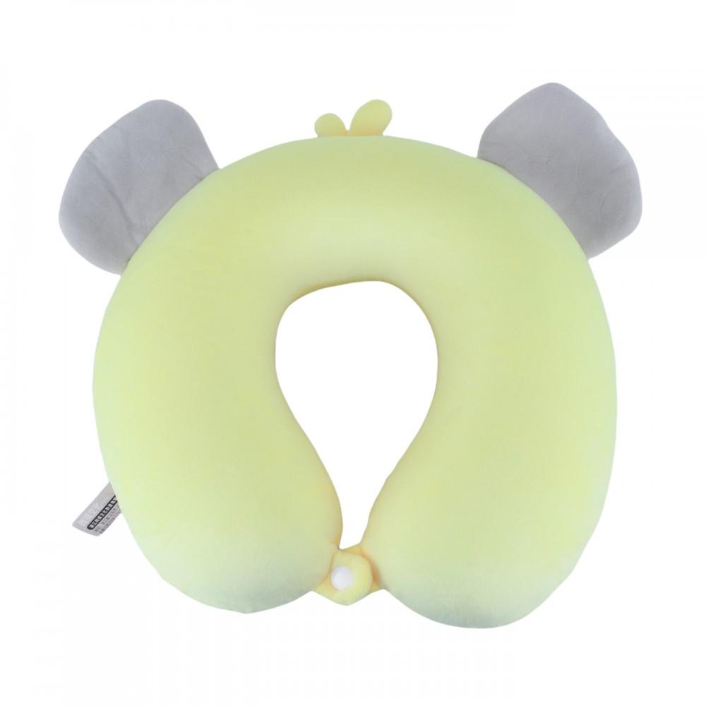 Подушка для путешествий Слоненок серого цвета
