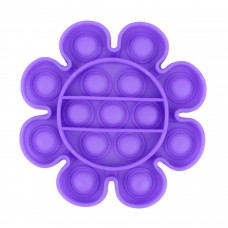 Pop it квітка однотонна