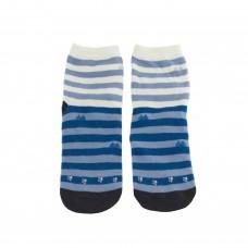 Шкарпетки смугасті в горошок із котиками жіночі р.37-40