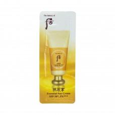Солнцезащитный крем The History of Whoo Gongjinhyang Jin Hae Yoon Sun Cream SPF 50+ PA+++