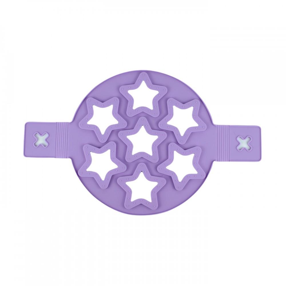 Форма силіконова, для млинців та яєшні, колір фіолетовий