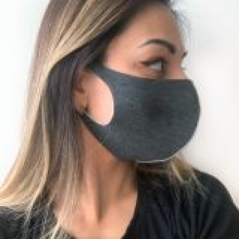 Захисна маска для обличчя тканинна Кумамон