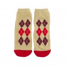 """Шкарпетки смугасті в горошок """"I love puppy"""" жіночі р.37-40"""