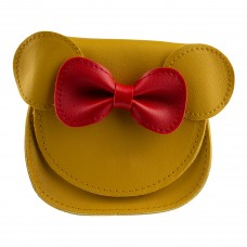 Сумка дитяча, мишеня, колір жовто-червоний