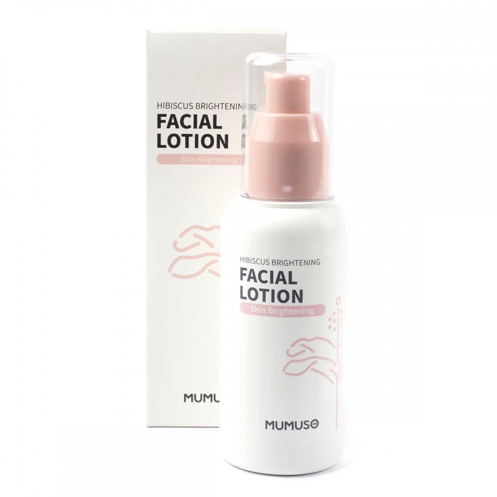 Лосьйон для шкіри обличчя з екстрактом гібіскусу надаючий шкірі сяйво 120 мл MMS