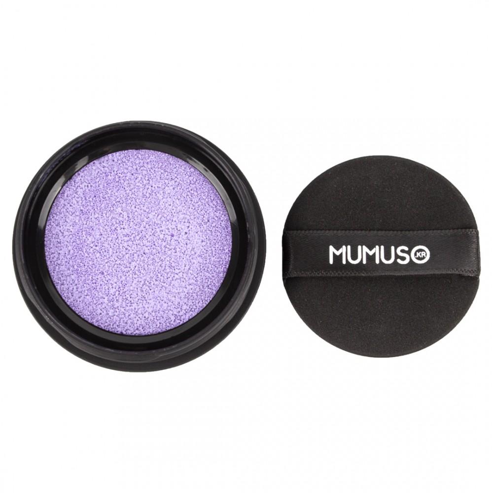 Консилер-коректор для макіяжу СС-кушон відтінок фіолетовий