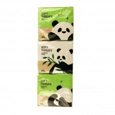 """Набор сухих салфеток 6 упаковок """"Панда"""""""