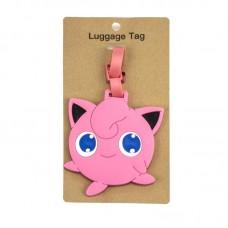 Бірка для багажу рожева казковий персонаж