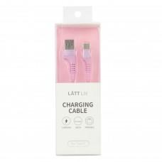 Дата-кабель для смартфону Type-C нежно-розового цвета