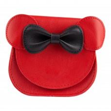 Сумка дитяча, мишеня, колір червоно-чорний