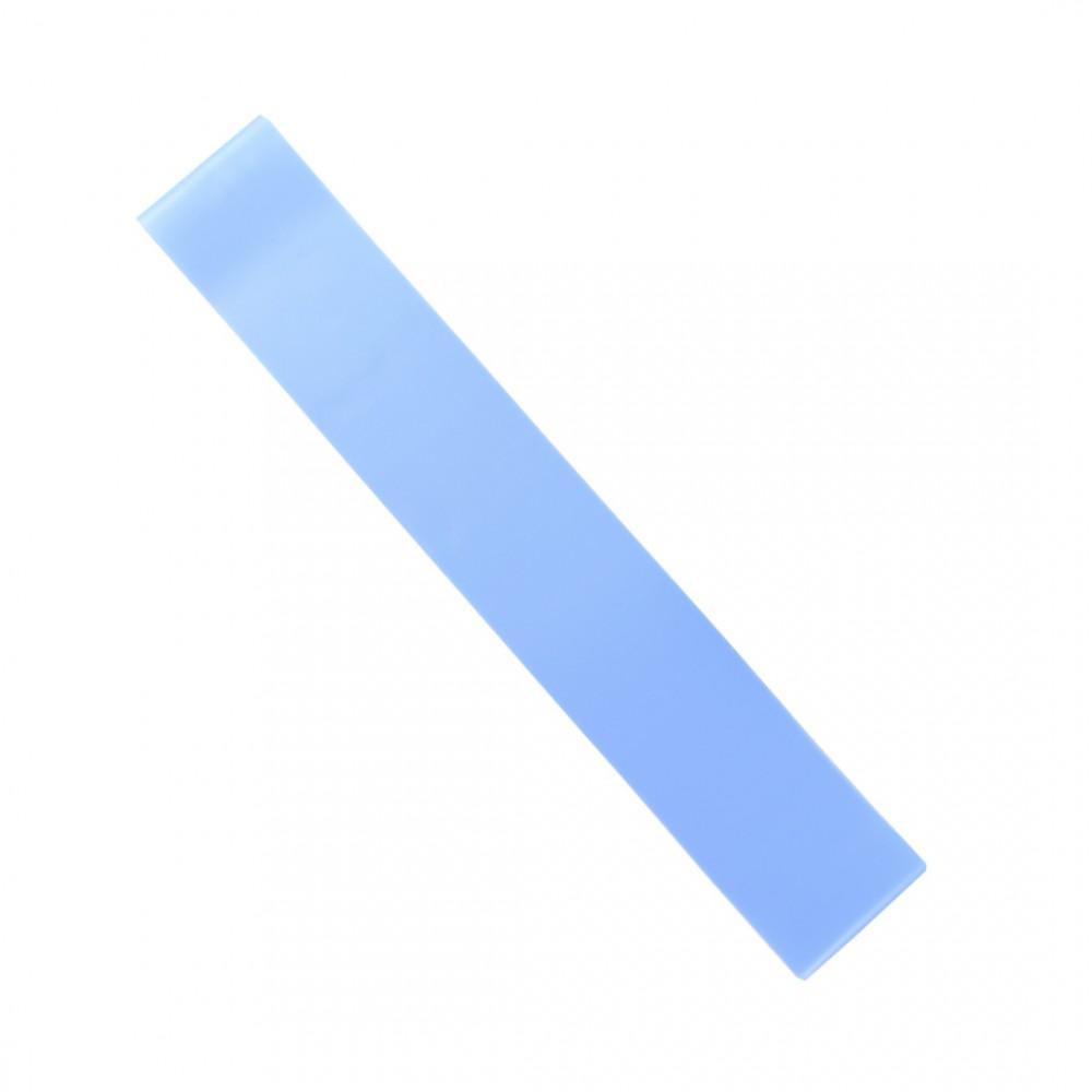 Резинка для фітнесу 12 мм хард колір блакитний