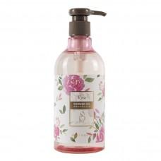 Гель для душа с ароматом розы парфюмированный MMS