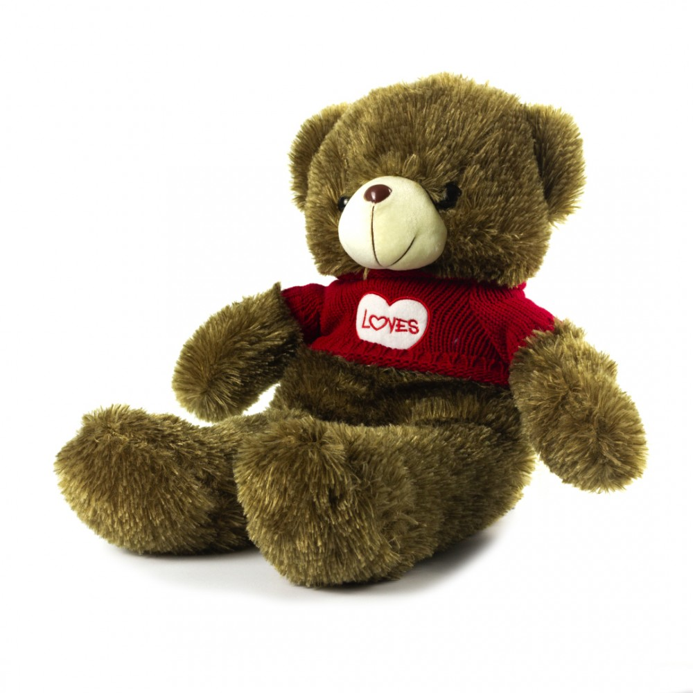 Мягкая игрушка Мишка коричневый 60 см