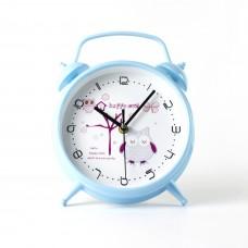 """Годинник настінний """"Сова"""" колір блакитний"""